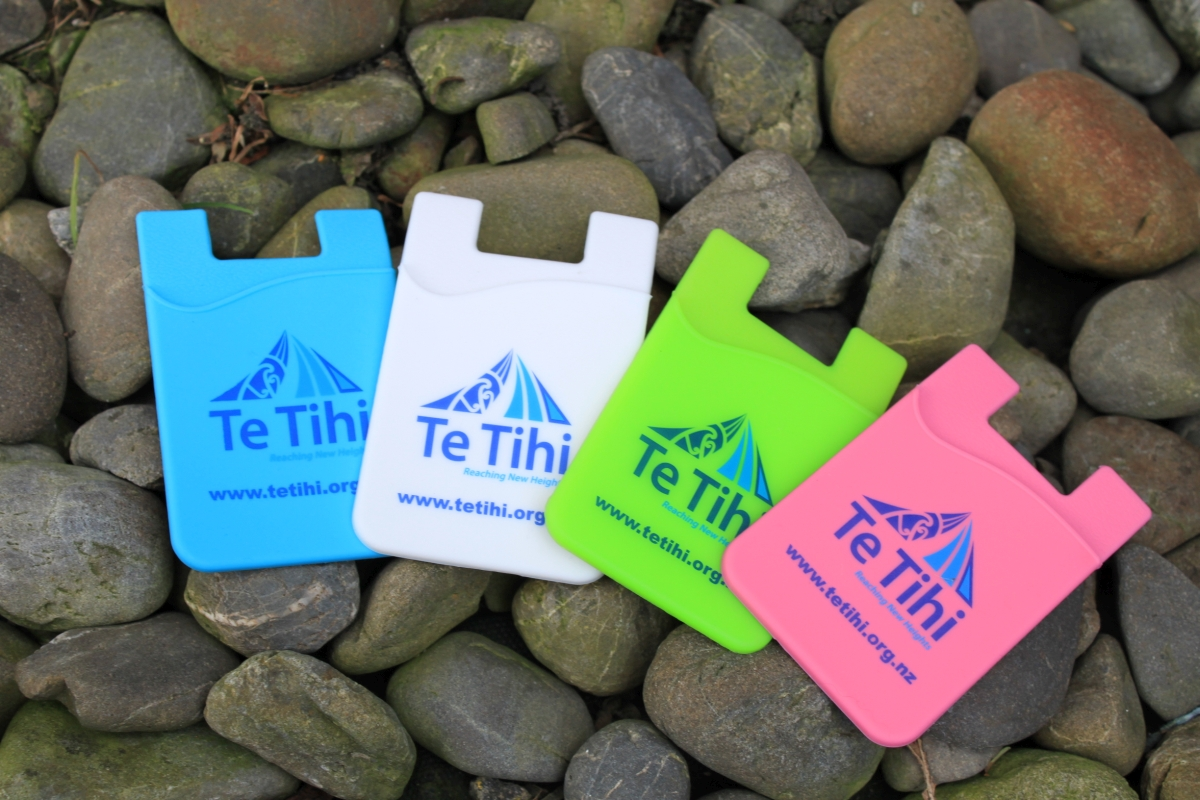 Te Tihi Phone Wallets $4.99